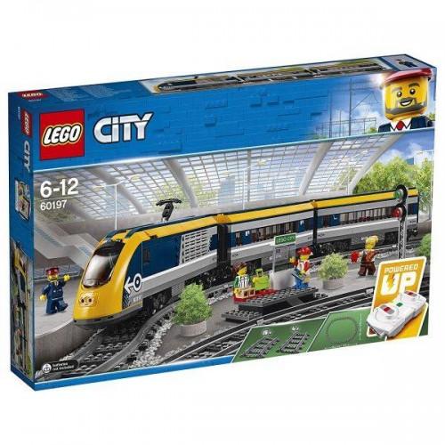 LE TRAIN DE PASSAGERS TELECOMMANDE LEGO 60197