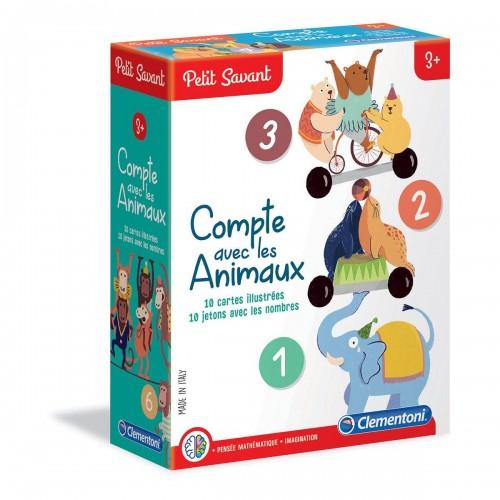 COMPTE AVEC LES ANIMAUX CLEMENTONI 52363