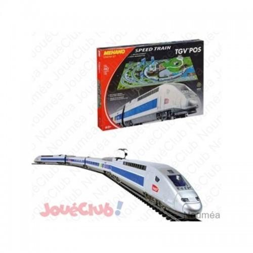 COFFRET TGV POS AVEC MAQUETTE SIDJ T111