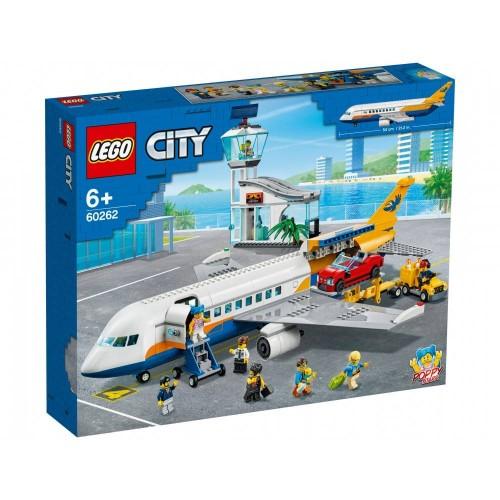 L AVION DE PASSAGERS LEGO 60262