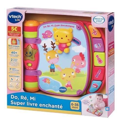 SUP LIVRE ENCHANTE ROSE VTECH 166755