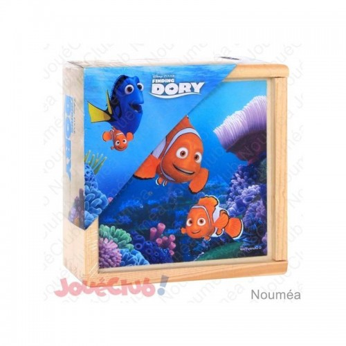 9 CUBES BOIS FINDING DORY MGM 052752