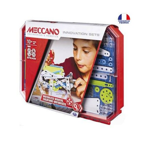 SET 5 KIT D INVENTIONS MECCANO 6047099