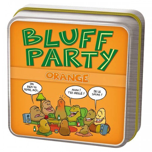 BLUFF PARTY ORANGE ASMODEE CGBPO01