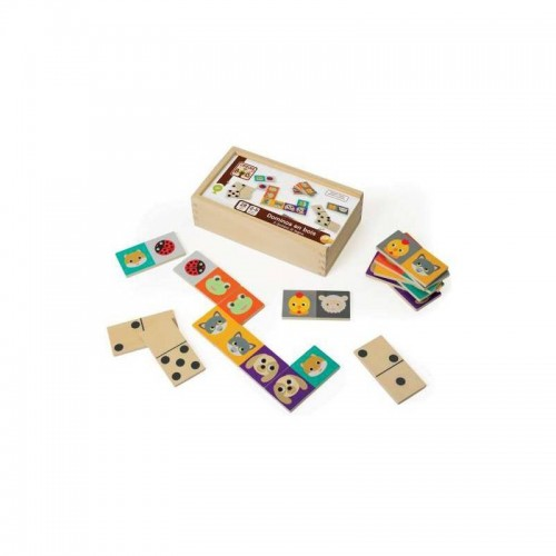 DOMINOS REVERSIBLES LES ANIMAUX SIDJ 370008