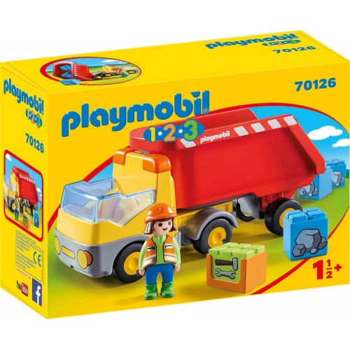 CAMION BENNE PLAYMOBIL 70126