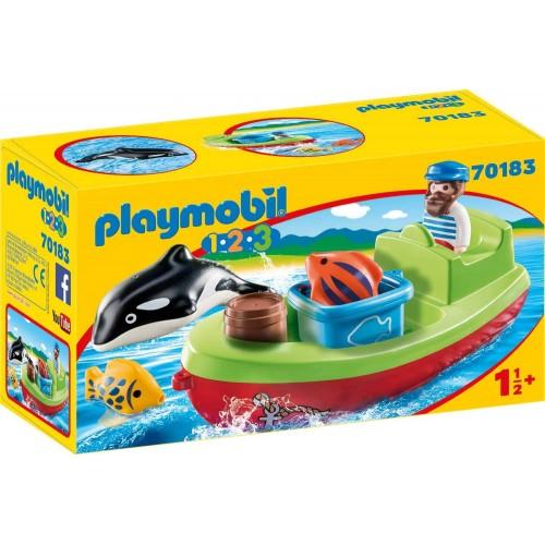 BATEAU DE PECHEUR PLAYMOBIL 70183