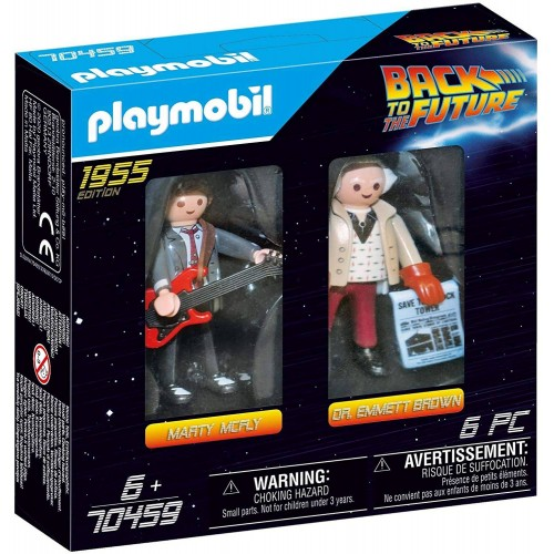 BACK TO THE FUTUR MARTY MCFLY PLAYMOBIL 70459
