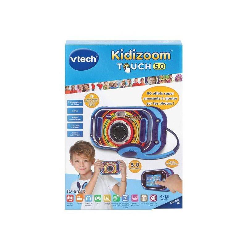 KIDIZOOM TOUCH 5 BLEU VTECH 163505