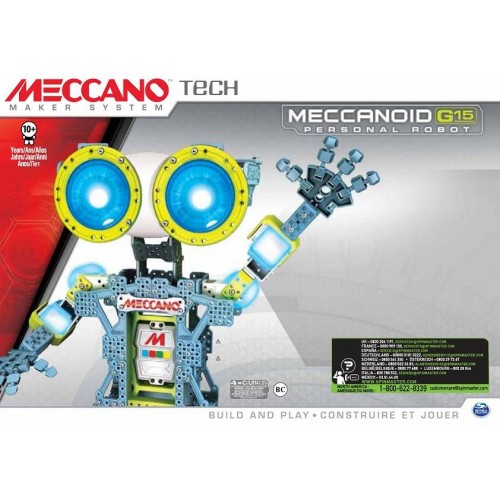 MECCANOID G15 TECH MECCANO 6024907