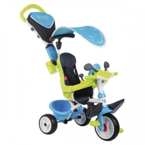TRICYCLE BABY DRIVER CONFORT BLEU SMOBY 741200