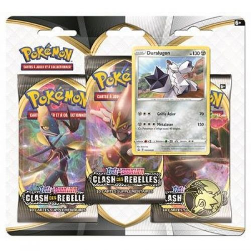 POKEMON PACK 3 BOOSTER ASMODEE 3PACK01EB02