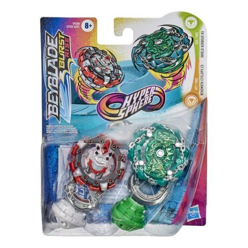BEYBLADE PACK DUEL KERBEUX HASBRO E9238