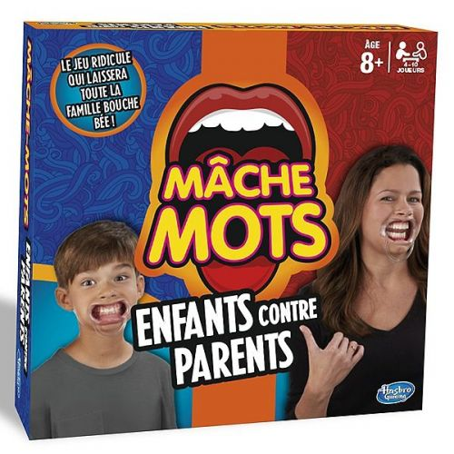 MACHE MOTS ENFANT CONTRE PARENTS HASBRO C31451010