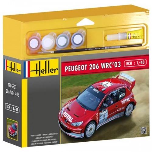 PEUGEOT 206 WRC 03 HELLER 50113