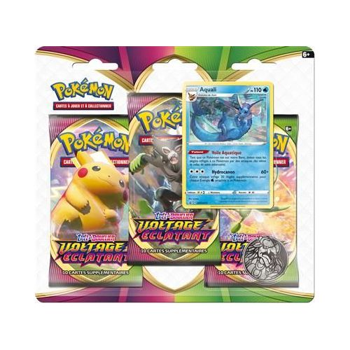POKEMON PACK 3 BOOSTERS 3PACK01