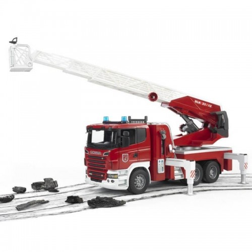 CAMION POMPIERS SCANIA R SERIE BRUDER SIDJ 3590