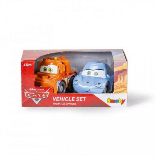 VROOM PLANETE COFFRET 2 VOITURES SMOBY 120219