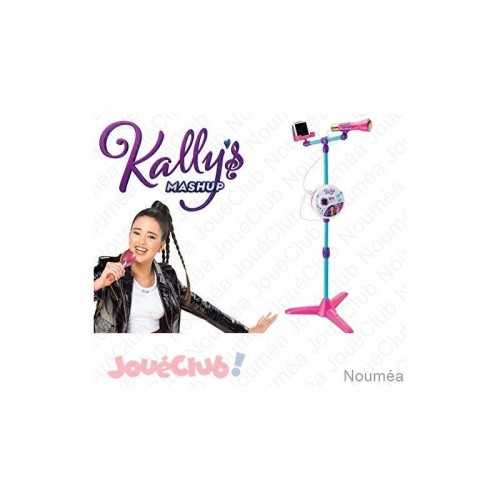 KM MICROPHONE SUR PIED SMOBY 520124