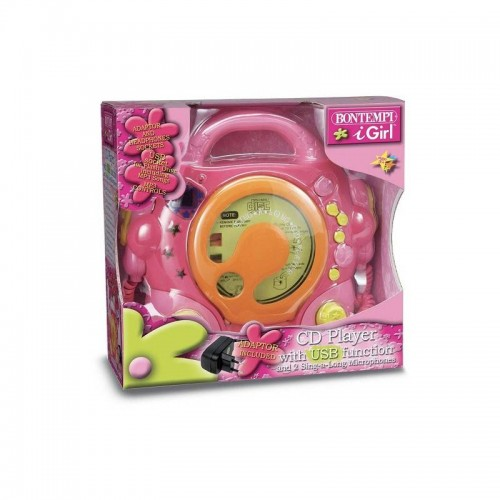 LECTEUR CD 2 MIC MP3 USB BONTEMPI 439972