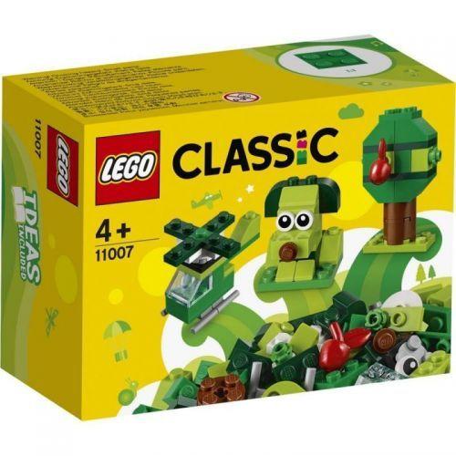BRIQUES CREATIVES VERTES LEGO 11007