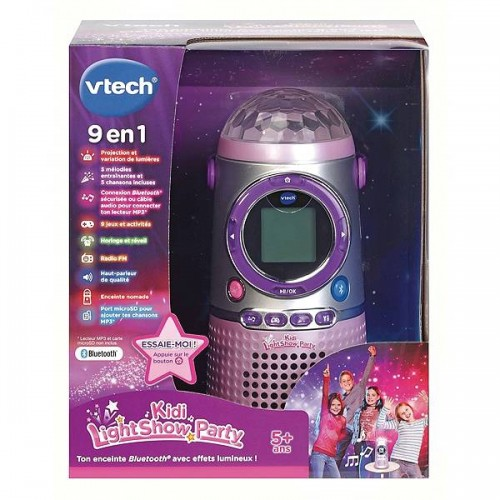 KIDIDREAMS ENCEINTE LIGHT VTECH 163905