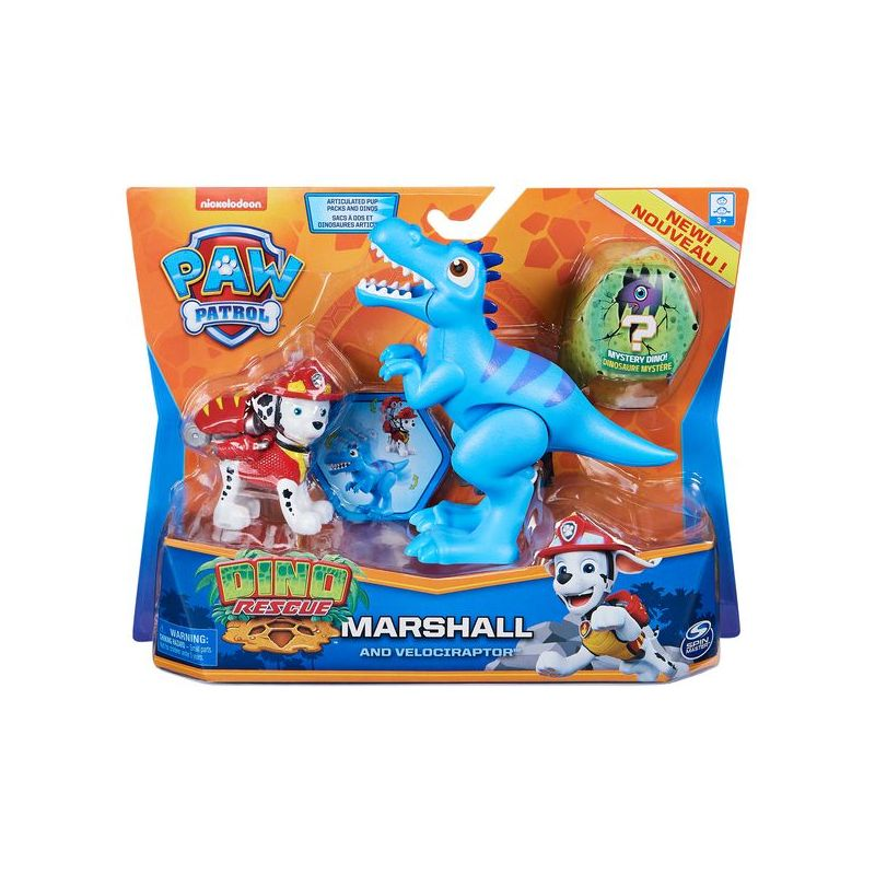 PAW PATROL PERSONNAGE AVEC DINO ASST SPIN MASTER