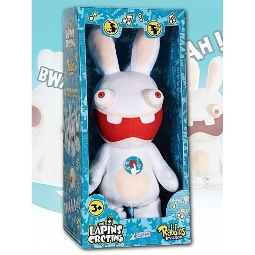 THE LAPIN CRETINS PELUCHE ANIME GIPSY 055214