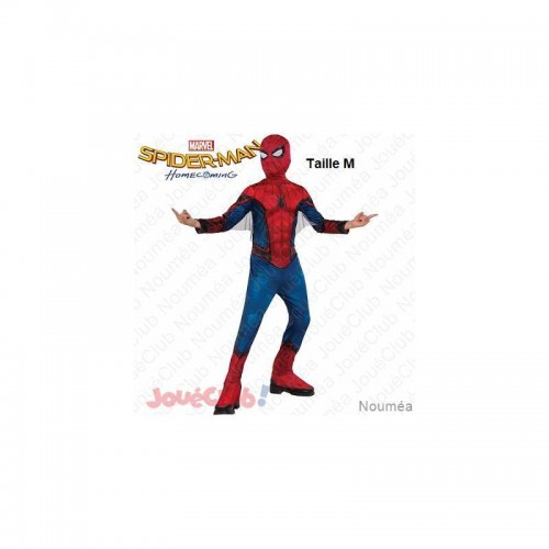 PANOPLIE LUXE SPIDERMAN HOMMECOMING M RUBIES