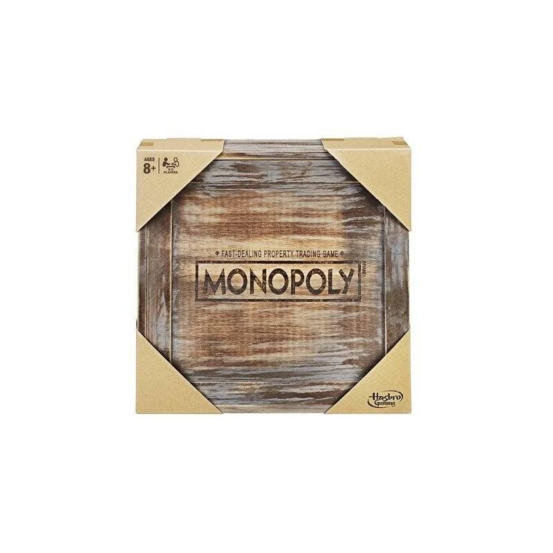 MONOPOLY EDITION VINTAGE EN BOIS SIDJ C2320801