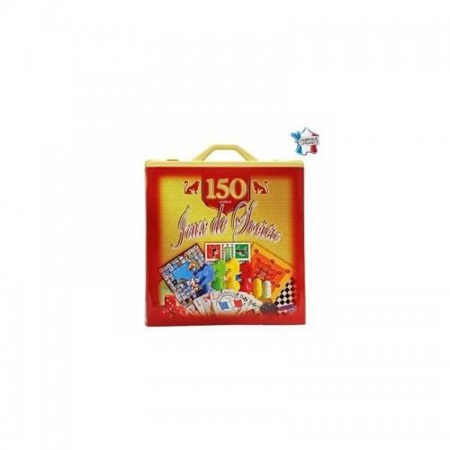 MALETTE PLASTIQUE 150 JEUX SIDJ 001523