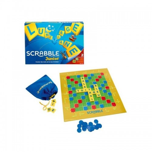 JUNIOR SCRABBLE FRANCE MATTEL Y9668