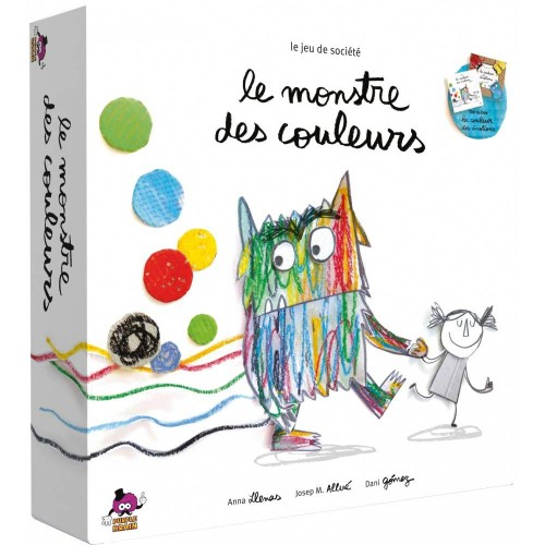 LE MONSTRE DES COULEURS FR ASMODEE PUBCM01FR