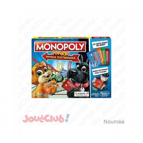 MONOPOLY JUNIOR ELECTRONIC HASBRO E18421010