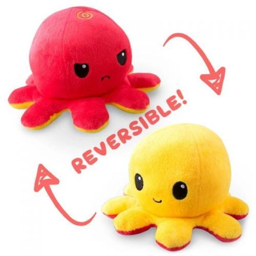 PELUCHE OCTOPUS POULPY PIEUVRE SIDJ RED