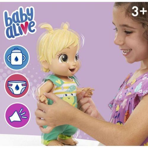 BABY ALIVE BEBE SAUTILLE CHEVEUX BLOND HASBRO E942