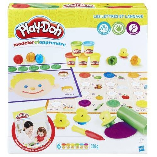 PD PLAYDOH LETTERS AND LANGUAGE HASBRO B34071010