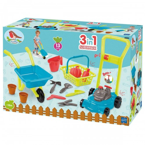 SUPER PACK JARDIN 3 EN 1 ECOIFFIER 4584