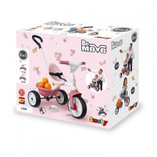 TRICYCLE BE MOVE ROSE SMOBY 740332