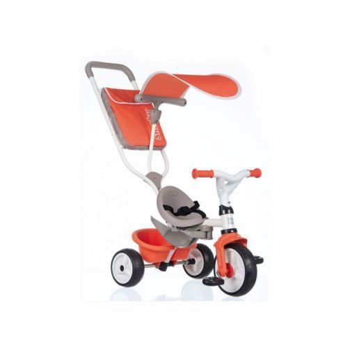 TRICYCLE BABY BALADE ROUGE SMOBY 741105