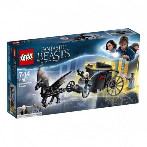 L'EVASION DE GRINDELWALD LEGO 75951