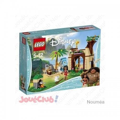 L AVENTURE SUR L ILE DE VAIANA LEGO 41149