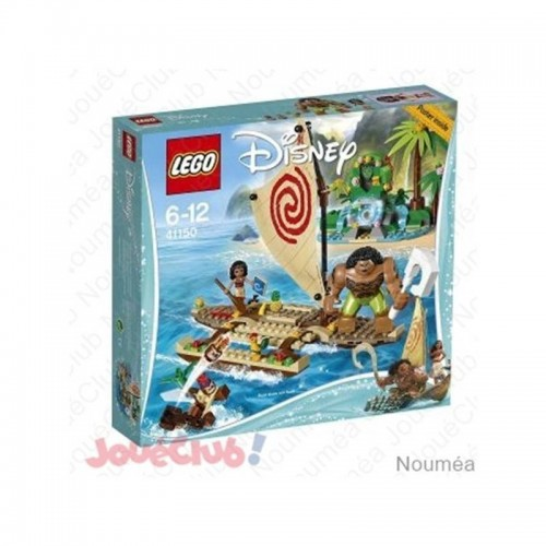 LE VOYAGE EN MER DE VAIANA LEGO 41150