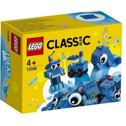 BRIQUES CREATIVES BLEUES LEGO 11006