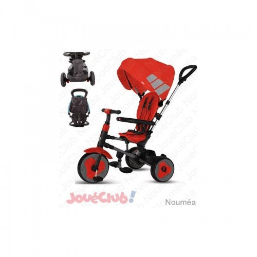 TRICYCLE RITO ROUGE AVEC SIDJ S374