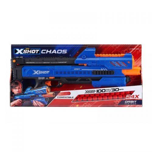 XSHOT DART BALL BLASTER CHAOS ORBIT ZURU 36281
