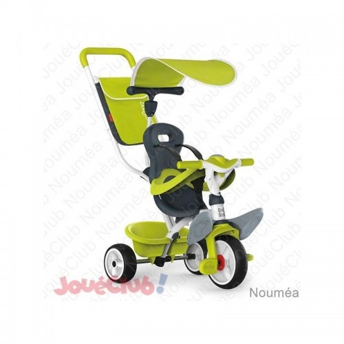 TRICYCLE BABY BALADE VERT SMOBY 741100