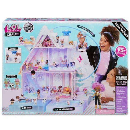 LOL SURPRISE CHALET WINTER DISCO GP TOYS LLUA1000