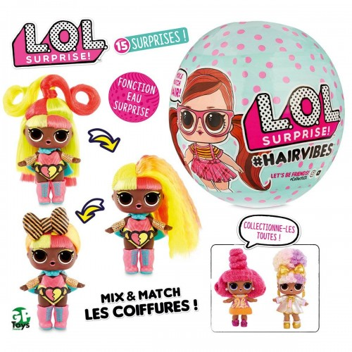 LOL SURPRISE HAIRVIBES ASST GP TOYS LLUB800G