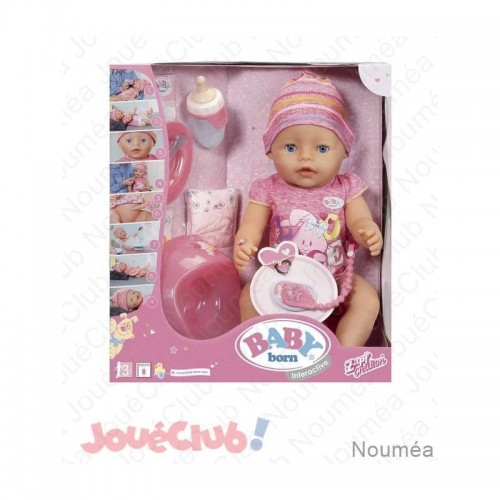 BABY BORN SOFT TOUCH FILE 43CM GP TOYS BBY00000